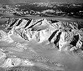 Columbia Glacier and Meares Glacier, Valley Glacier Head, August 24, 1964 (crop).jpg