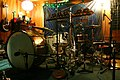 "Concert bass drum setup - Kayo Dot album ""Coyote"" Recording in Aleph Studios, Seattle (2009-06-17 11.14.12 by Dan Means).jpg"