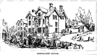 Industrial school - Connaught House 1887 - A Church of England Industrial School in Winchester.