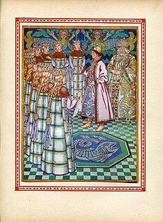 The Sea Tsar and Vasilisa the Wise Russian fairy tale