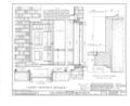 Corines Quackenbush House, Wyckoff and Franklin Avenues, Wyckoff, Bergen County, NJ HABS NJ,2-WYCK,5- (sheet 10 of 24).png