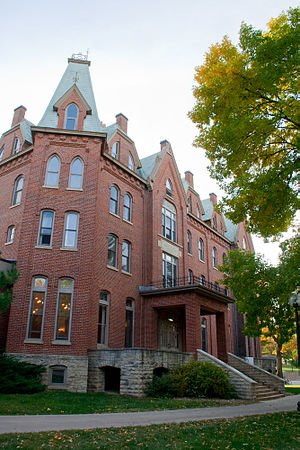 Cornell College-Mount Vernon Historic District - Bowman Hall (1885)