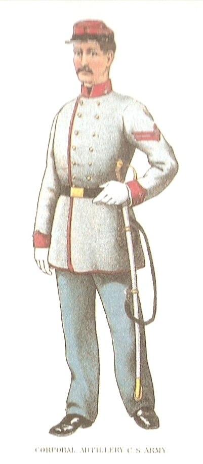 Corporal Artillery CS Army