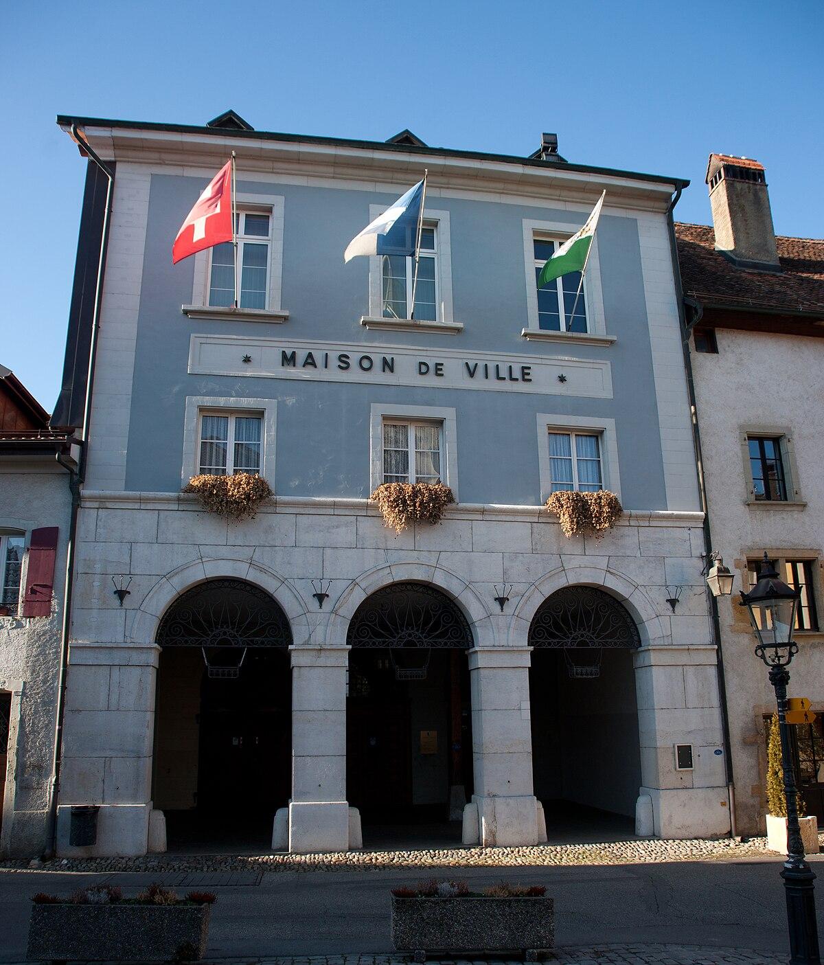 Cossonay wikipedia - Maison de ville rustique adelaide ...
