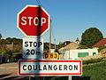 Coulangeron-FR-89-panneau d'agglomération-2.jpg