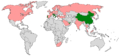 Countries with F1 Powerboat races in 2006.png