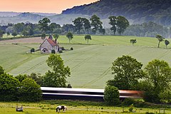 Countryside Express passing St Huberts.jpg