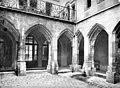 Couvent des Carmes-Billettes (ancien) - Cloître, Galerie extérieure - Paris 04 - Médiathèque de l'architecture et du patrimoine - APMH00004625.jpg