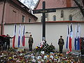 Cracow after Polish Air Force One crash 07.jpg