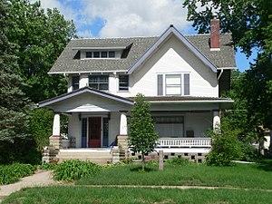 National Register of Historic Places listings in Saline County, Nebraska - Image: Crete, Nebraska 1142 Hawthorne Ave