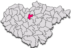 Commune Crişeni in Sălaj County