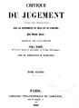 Critique du jugement 1846.png