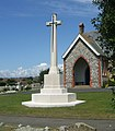 Cross of Sacrifice and Cemetery Chapel, Seaford - geograph.org.uk - 735324.jpg