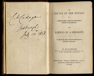 Eilean Chathastail - The Cruise of the Betsey - title page (1858)