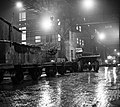 Csepel Vas- és Fémművek, Acélmű, éjjeli rakodás, Budapest 1959 - Fortepan 104119.jpg