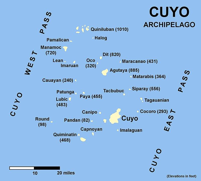 Cuyo Islands