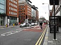 Cyclist in Theobald's Road - geograph.org.uk - 1656365.jpg