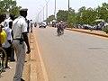 Cyclists competing in Ouagadougou, Burkina Faso, 2009.jpg