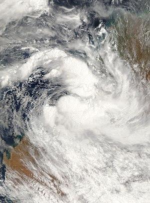2006–07 Australian region cyclone season - Image: Cyclone Isobel 03 jan 2007 0155Z