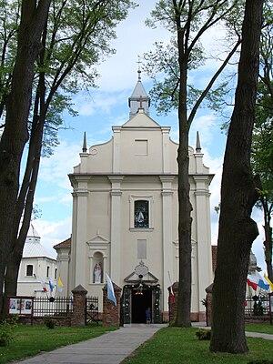 Czarnca - Saint Florian church