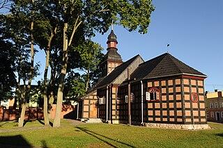 Czarne Place in Pomeranian Voivodeship, Poland