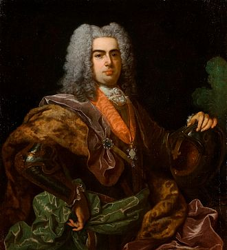 John V of Portugal - Portrait of John for the Exchange of the Princesses; Jean Ranc, 1729.