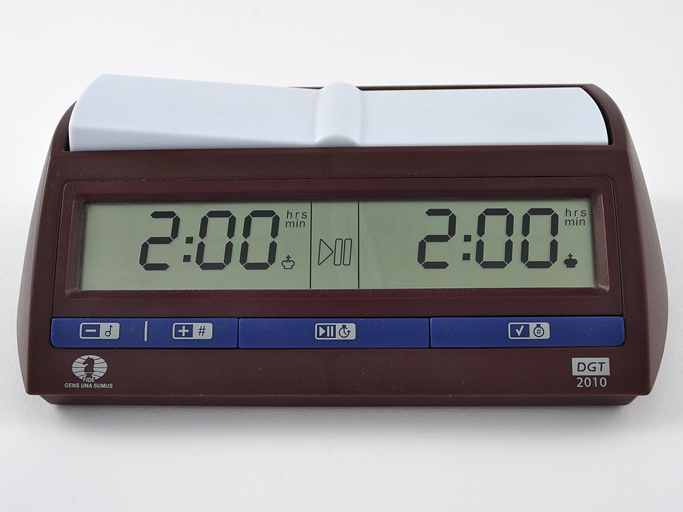DGT 2010 digital chess clock.ajb
