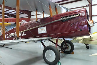 Airco DH.4 - Robertson Aircraft Corp. operated DH-4 mailplane (CAM 2) 1926 at the Historic Aircraft Restoration Museum.