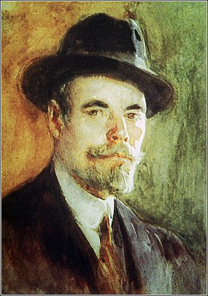 Daniel Hernández Morillo - Self-portrait. (date unknown)