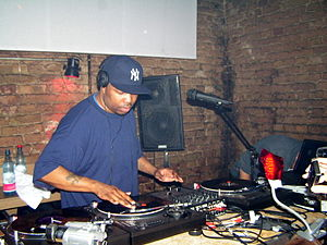 DJ Scratch - DJ Scratch at a gig in Berlin in February 2008