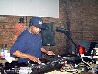 DJ Scratch - DJ Scratch at a gig in Berlin in February 2008