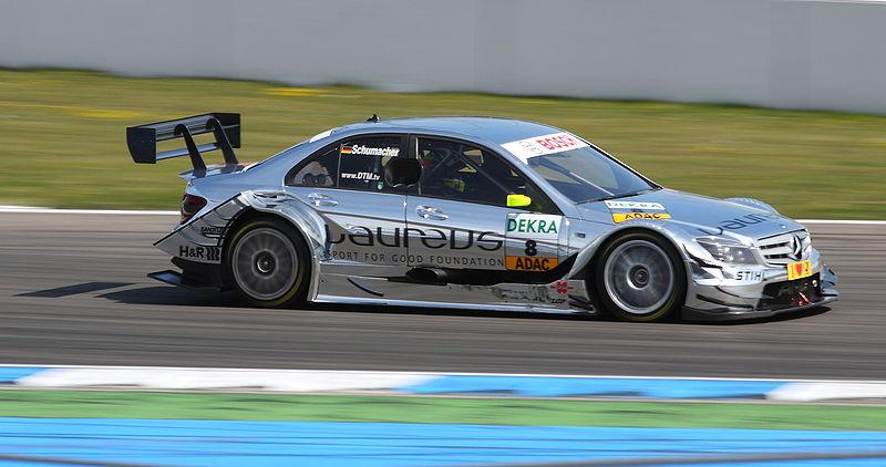 File:DTM Mercedes W204 Schumacher 2010 2 amk.jpg