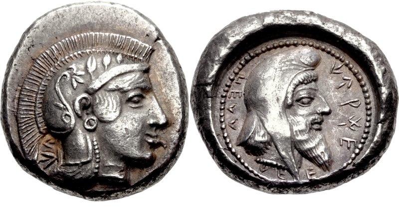 DYNASTS of LYCIA. Kherei. Circa 440-30-410 BC