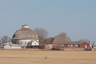 University of Illinois round barns experimental barns in Champaign County, Illinois