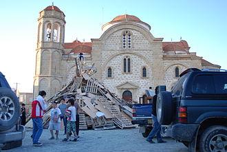 Dali, Cyprus - Panagia Evangelistria church.