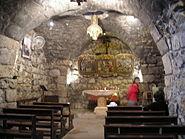 Damascus-Ananias chapel