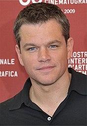 Matt Damon en la Mostra de Venecia, 2009