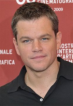 Matt Damon 2009.