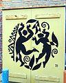 Dancers on a Service Box by David Diaz (San Diego, CA) (5345516980).jpg