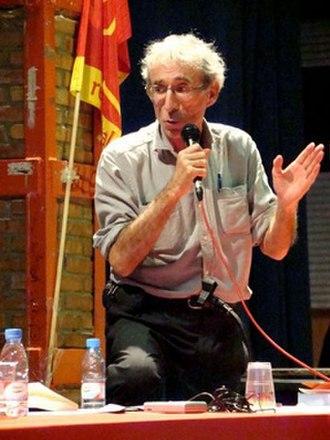 Daniel Bensaïd - Bensaïd at a conference in Barcelona in April 2008