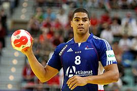 Daniel Narcisse (THW Kiel) - Handball player of France (2).jpg