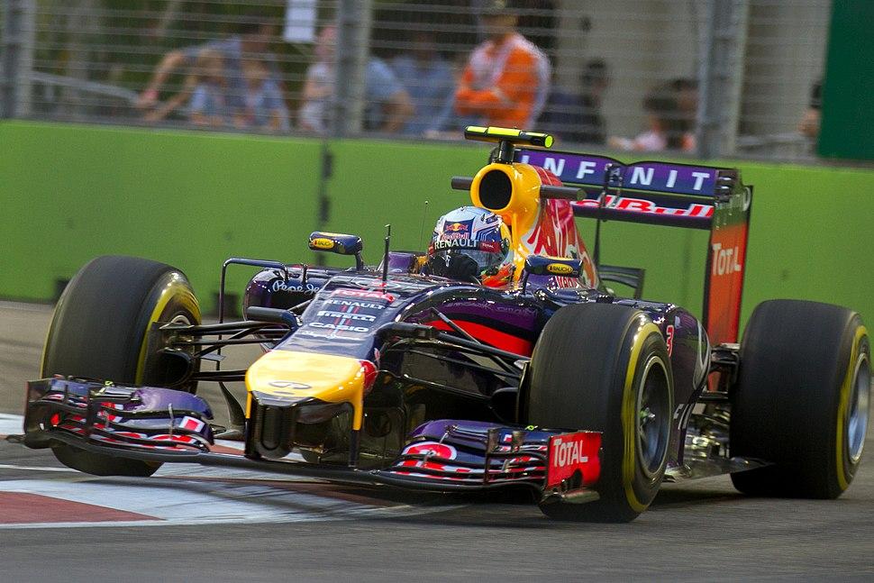 Daniel Ricciardo 2014 Singapore FP1