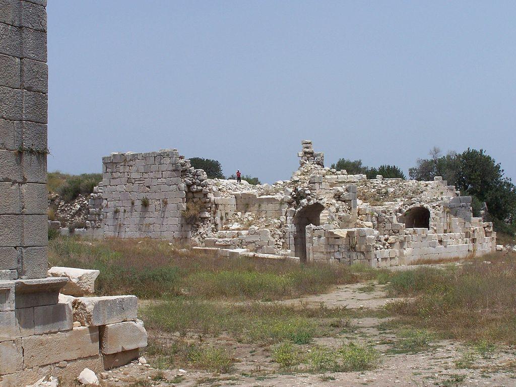 Das kleine Theater von Patara
