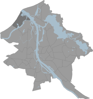 Daugavgrīva - Image: Daugavgriva karte