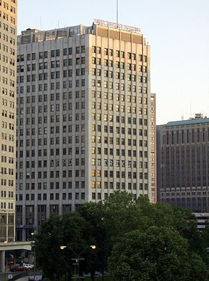 David Whitney Building - The Whitney Building in 2007, before restoration of its facade