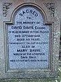 David Davis Blaengwawr inscription.jpg