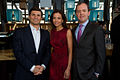 David Faber, Dina Habib Powell and Richard Powell at FT Spring Party.jpg