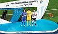 David Luiz, Cassio, Paolo Guerrero, FIFA Club World Cup 2012.jpg