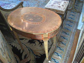 David Roentgen - Table by David Roentgen, circa 1780-1790.
