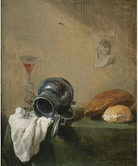 Still-life with overturned jug